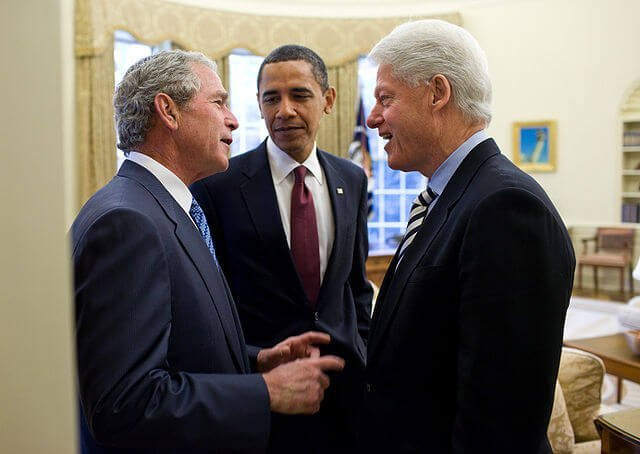 Heart Stents - Both President Bush and Clinton have them. Image source-https://www.flickr.com/photos/whitehouse/4291602492/